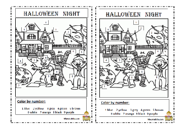 halloween color by number.pdf