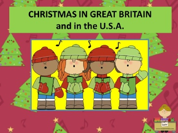 CHRISTMAS IN GREAT BRITAIN AND  USA BY ME.pps