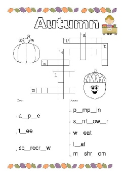 autumn crossword.pdf