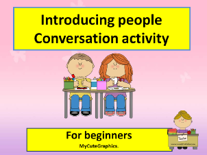 Conversation activity cl 3 by me.ppsx