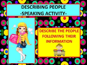 DESCRIBING PEOPLE2.ppsx