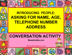 INTRODUCING PEOPLE - conversation- numbers.ppsx