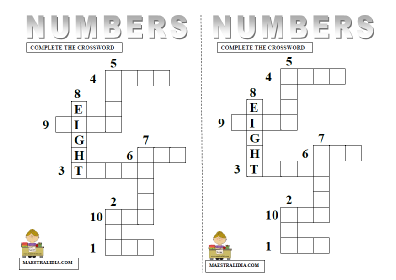 NUMBERS CROSSWORD.pdf