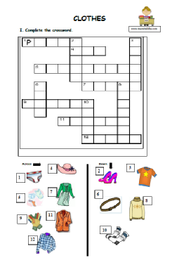 clothes crossword.pdf
